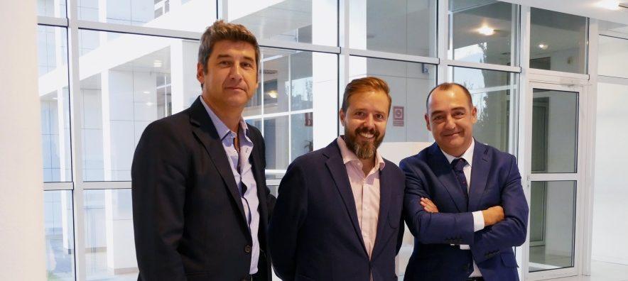 Ángel Fernández (ITAINNOVA), Pedro J. Fatás (BSV) y José Ignacio Goñi (COMEXTIC).
