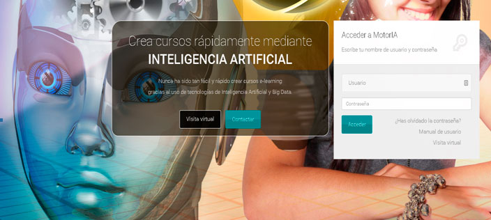MOTORIA: generación de contenidos formativos para e-learning mediante Inteligencia Artificial (IA)