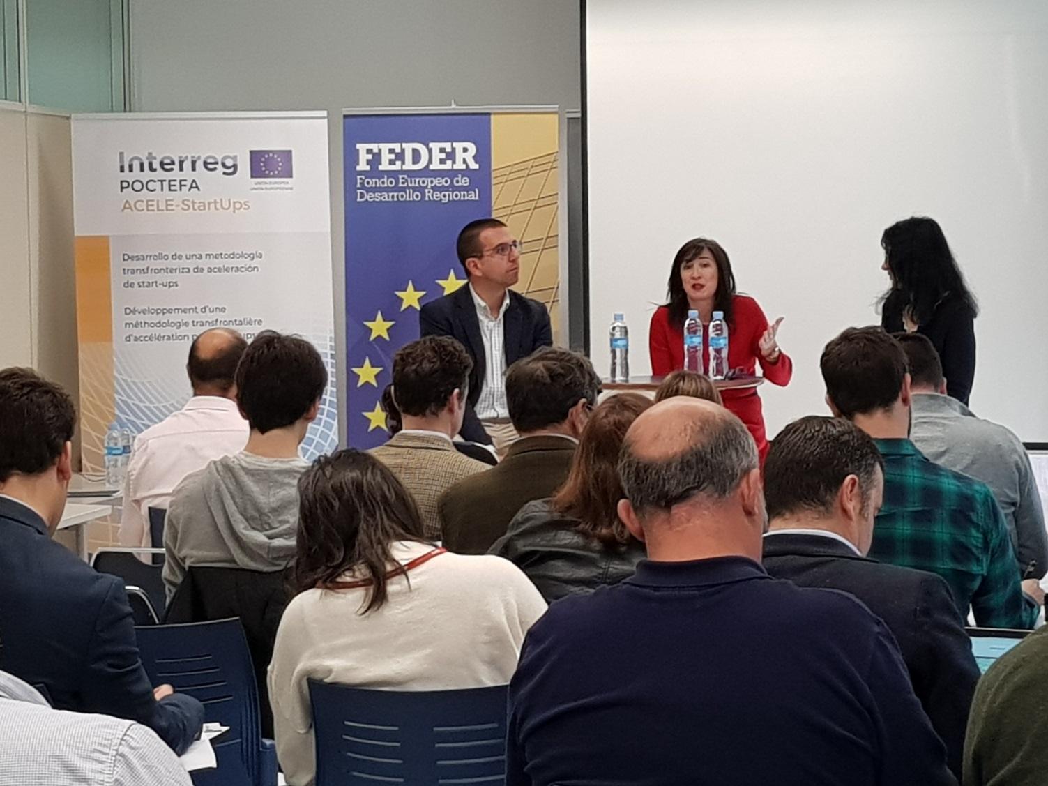 Emprendedores de Zaragoza conocen el proyecto ACELE-Startups, en el que ITAINNOVA es socio