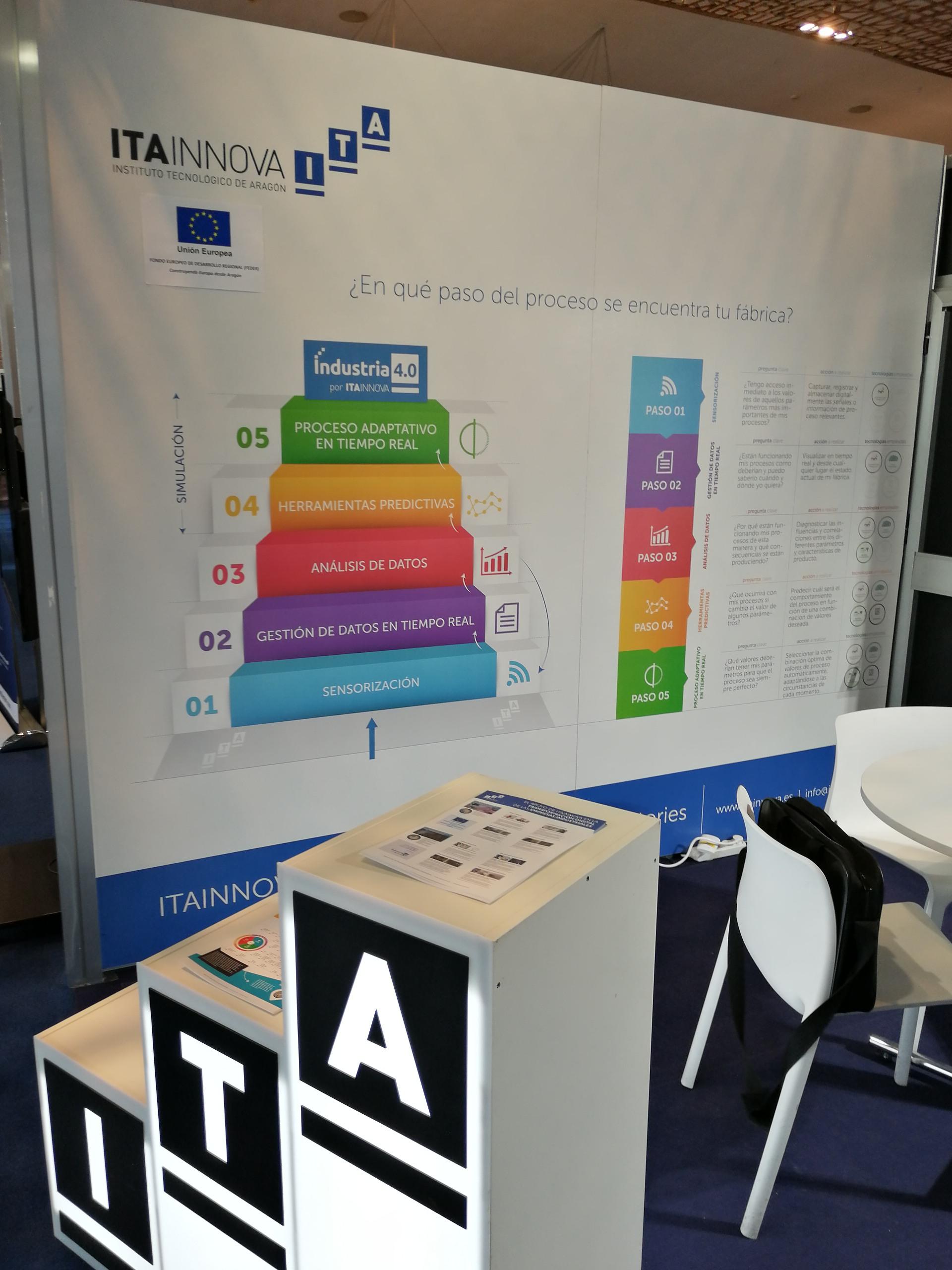 ITAINNOVA lleva a Advanced Factories ejemplos de sus últimos proyectos en industria 4.0