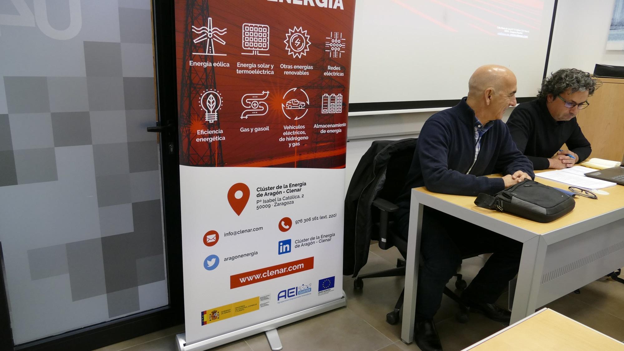 El clúster de la Energía de Aragón celebra un reunión de socios en ITAINNOVA