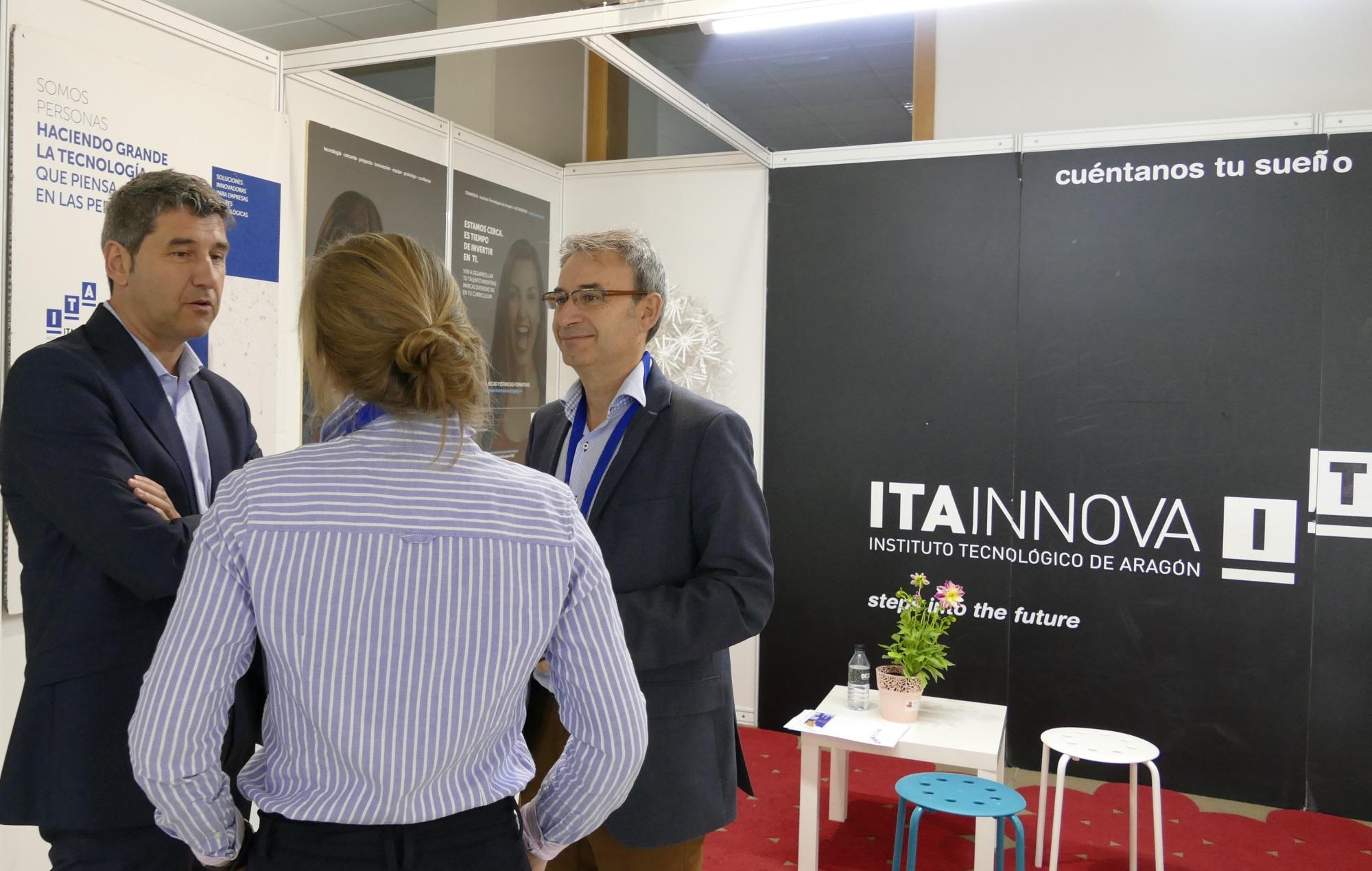ITAINNOVA asiste a la Feria de Orientación y Empleo de Unizar, ExpoTALENT 2019