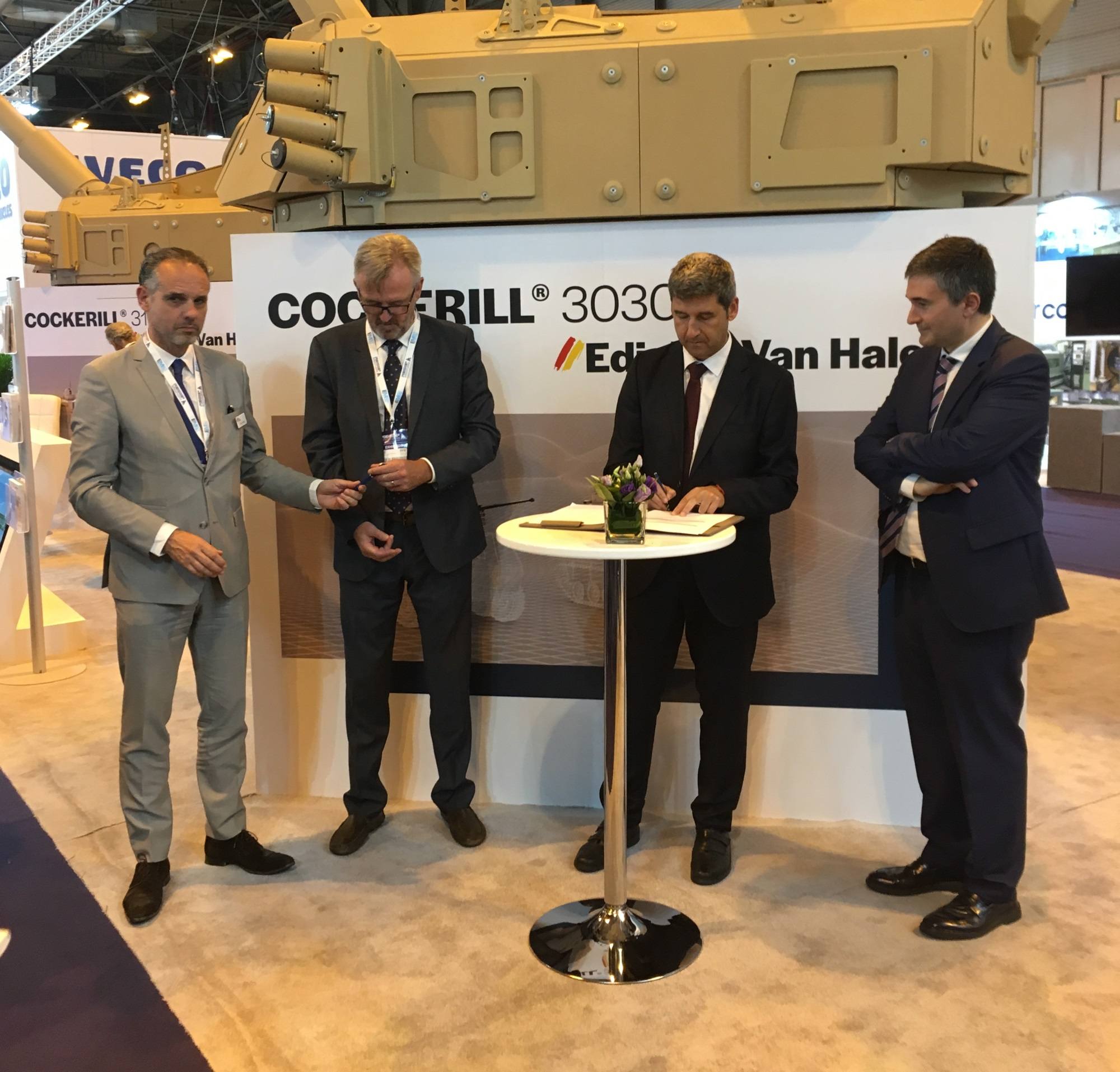 John Cockerill e ITAINNOVA firman un acuerdo de colaboración