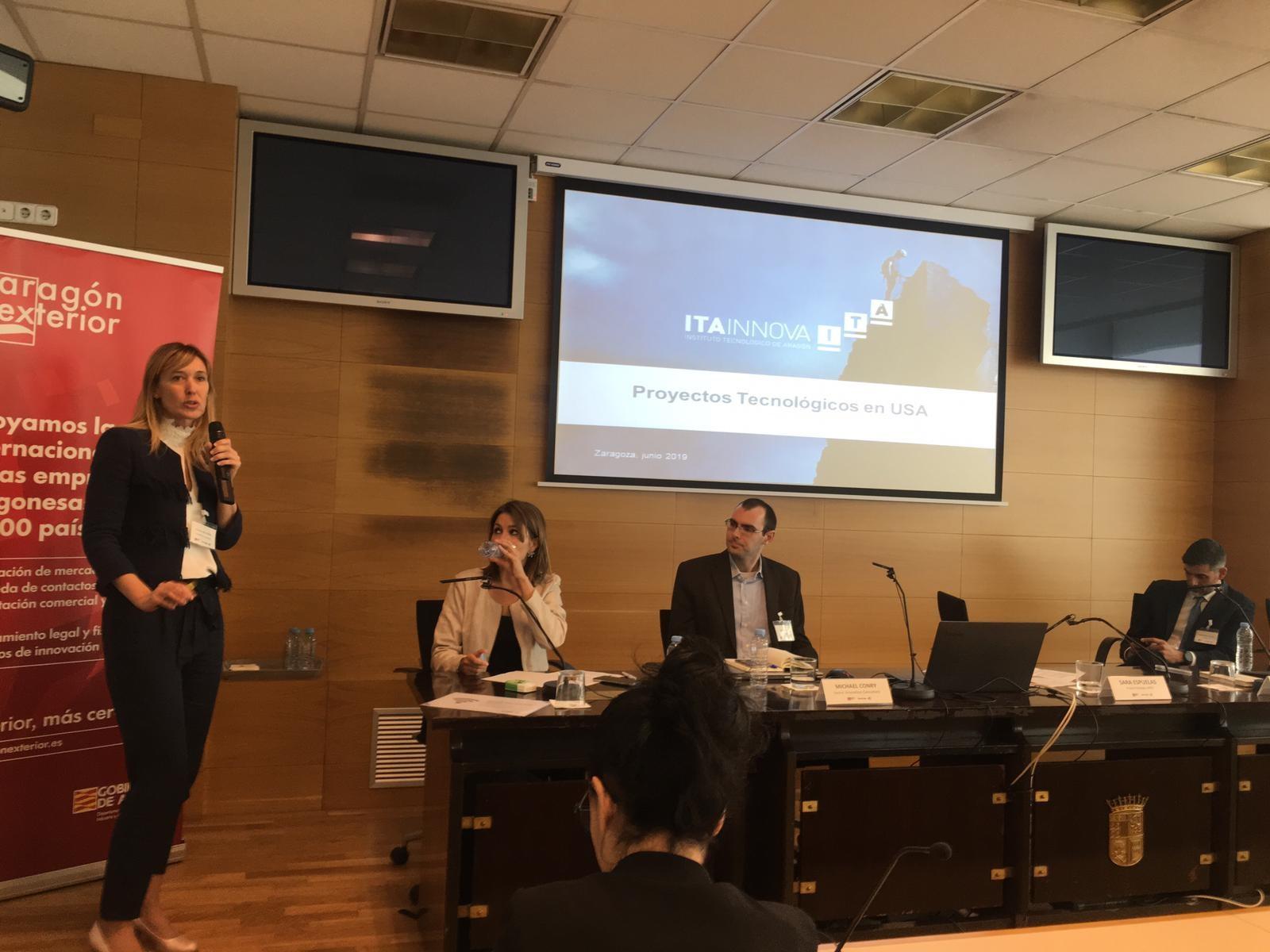 ITAINNOVA presenta un caso práctico de propuesta para recibir financiación de la innovación en EEUU