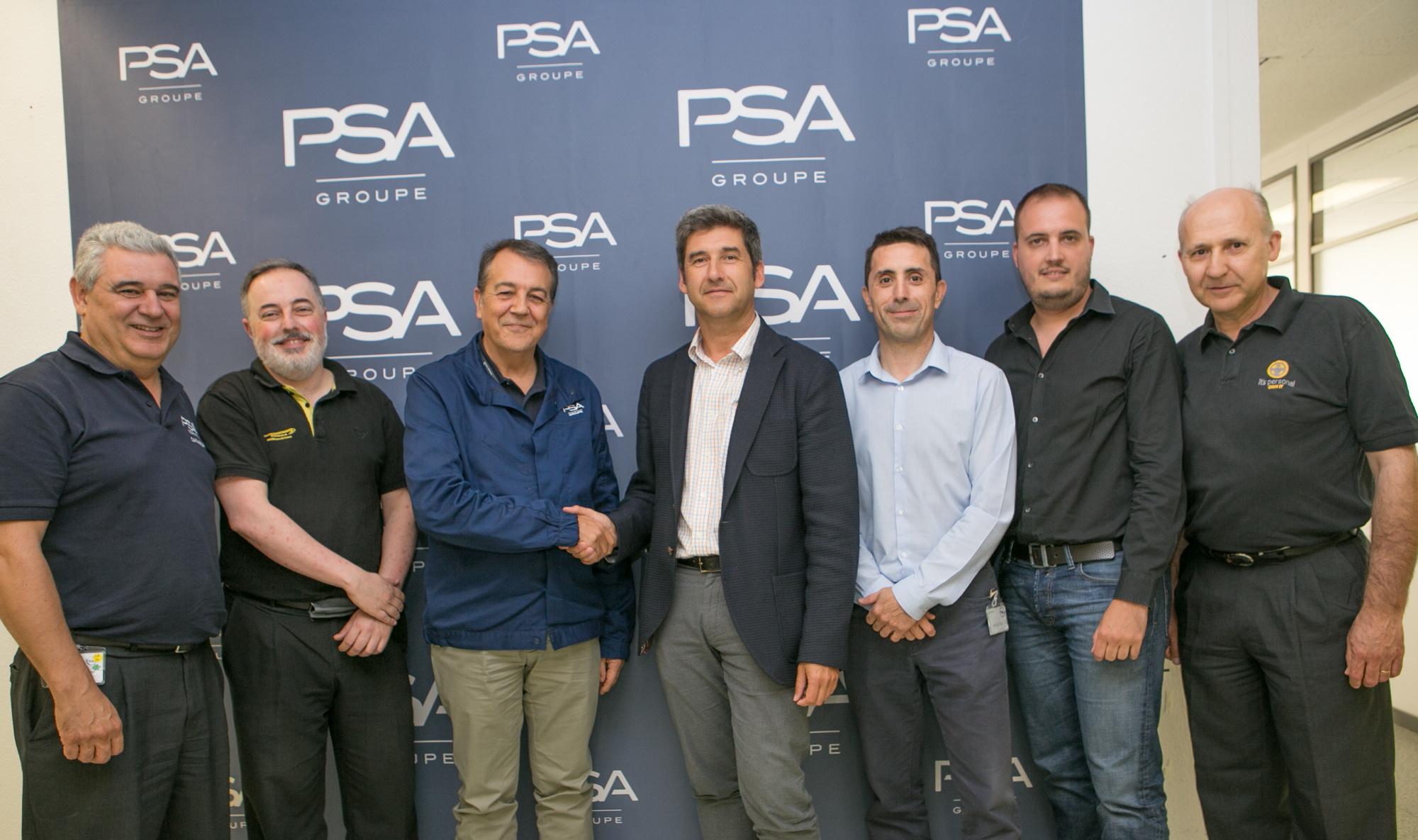 La planta de Zaragoza de Groupe PSA da un paso más en la innovación e industria 4.0 en colaboración con ITAINNOVA y CAAR