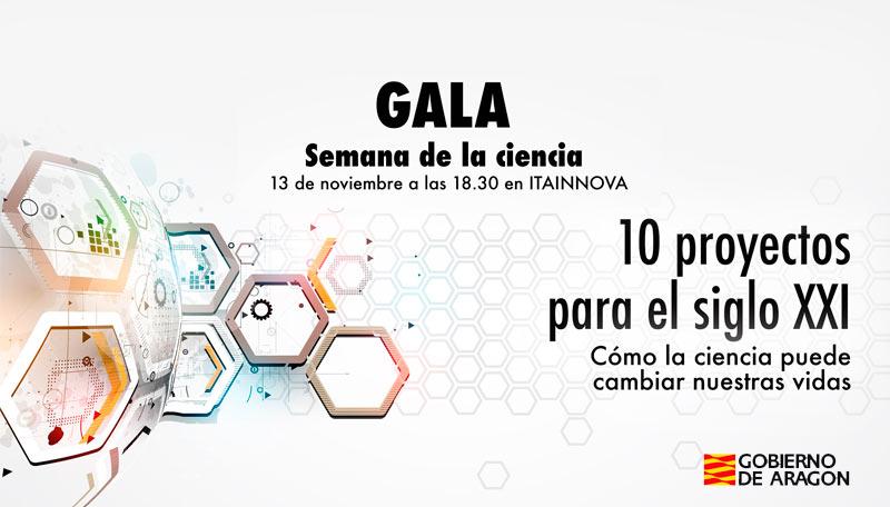 ITAINNOVA acogerá el 13 de noviembre la Gala de la Semana de la Ciencia