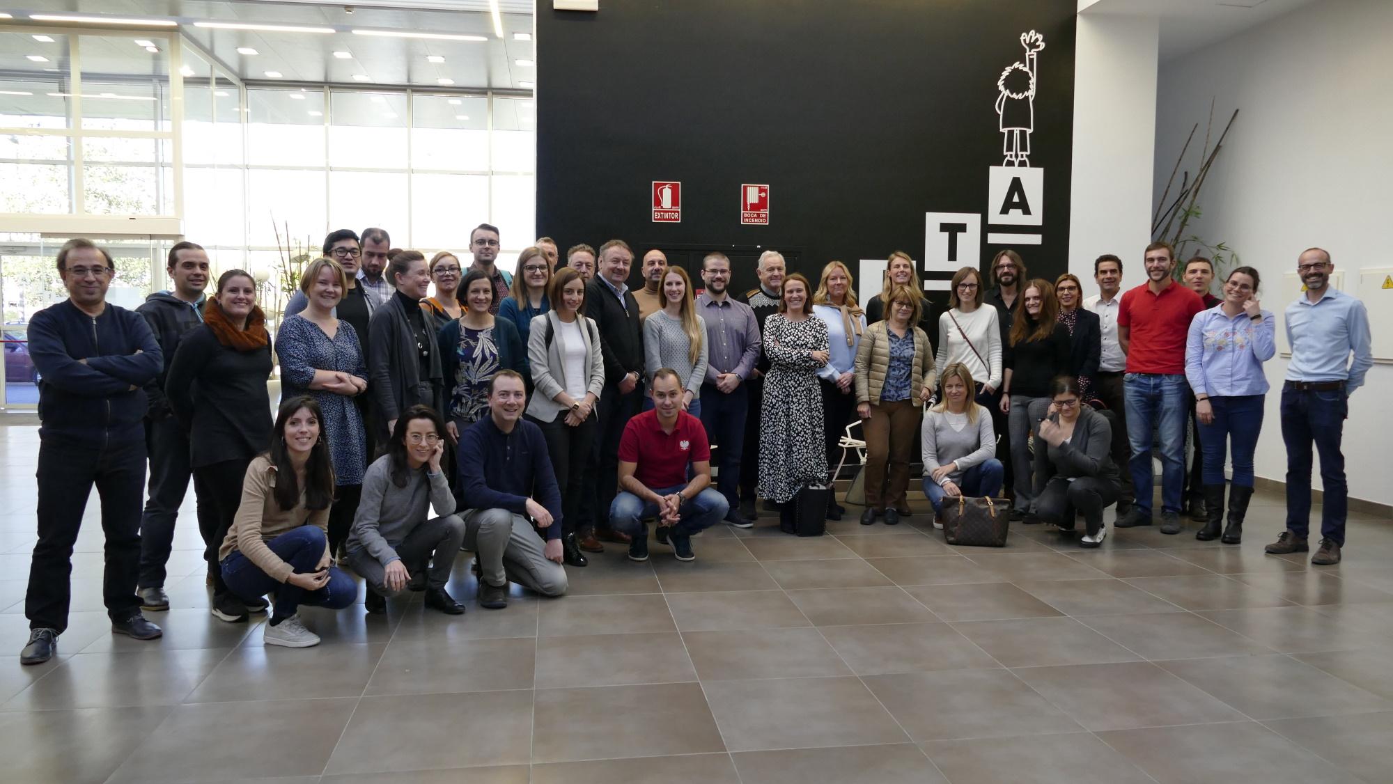 Profesionales de las tecnologías y del turismo conocen varias iniciativas en Aragón, trasladables a otros territorios de la UE
