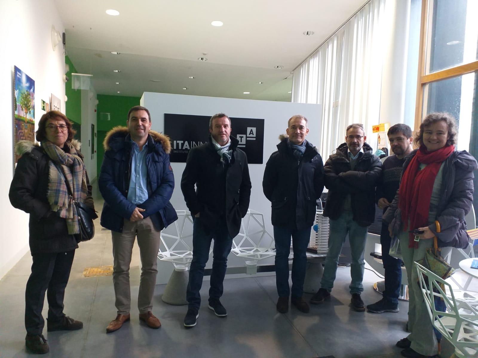 Reunión en Huesca de socios del proyecto ACELE-StartUps