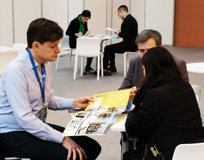 Exitoso balance del encuentro empresarial de CEOE Aragón e ITAINNOVA en la Feria del Mueble de Zaragoza