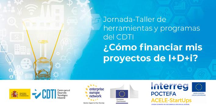 ITAINNOVA acogerá el 10 de marzo la jornada  ¿Cómo financiar mis proyectos de I+D+i?