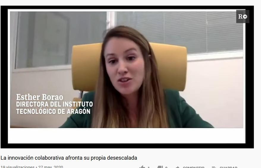 """Esther Borao participa en el  debate de El País sobre """"El poder de la colaboración en la lucha contra la pandemia"""""""