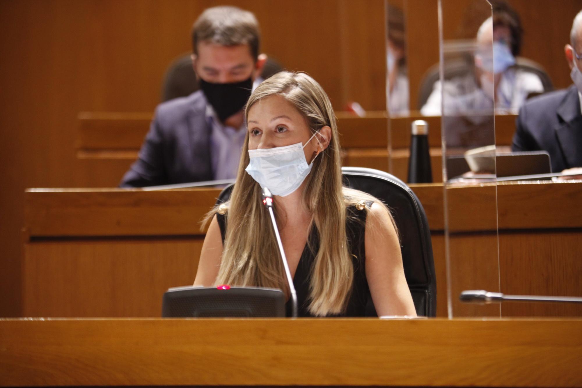 Esther Borao hace balance en las Cortes de Aragón de la actividad de ITAINNOVA desde que comenzó la crisis de la COVID19
