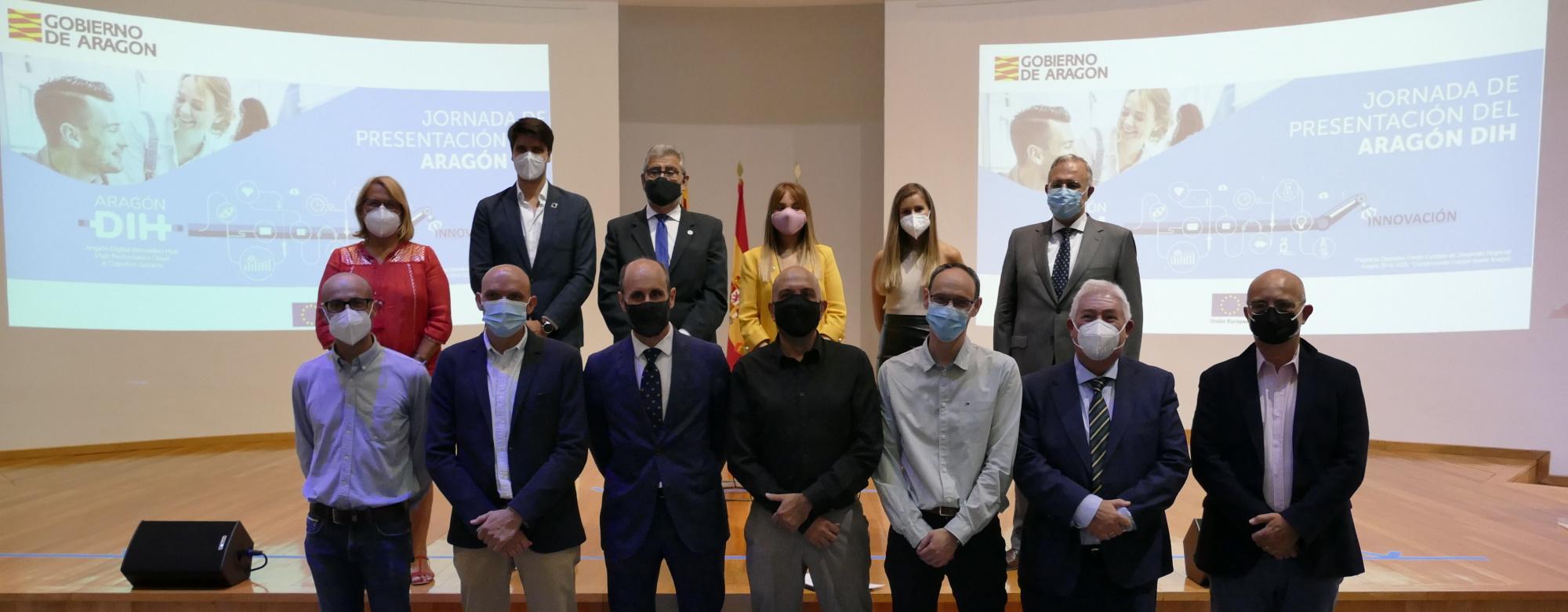 Presentamos Aragón DIH, que nos posiciona en Europa en cuanto a digitalización de la industria