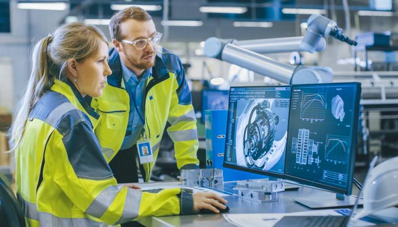Gemelo digital para industria y procesos logísticos