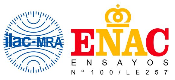Logotipo de ENAC que acredita que el Laboratorio Climático de ITAINNOVA puede realizar este tipo de ensayos