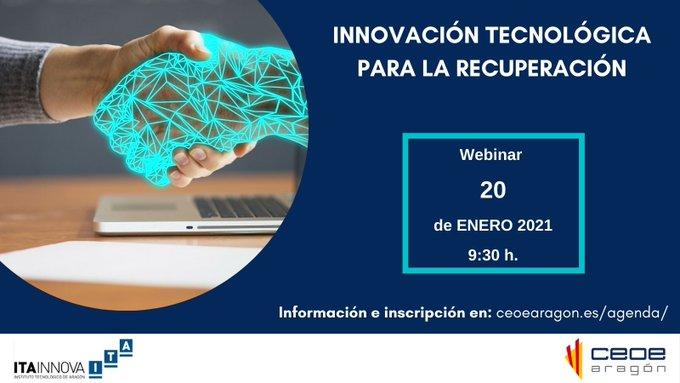 ITAINNOVA y CEOE Aragón dan claves de innovación Tecnológica para la recuperación económica