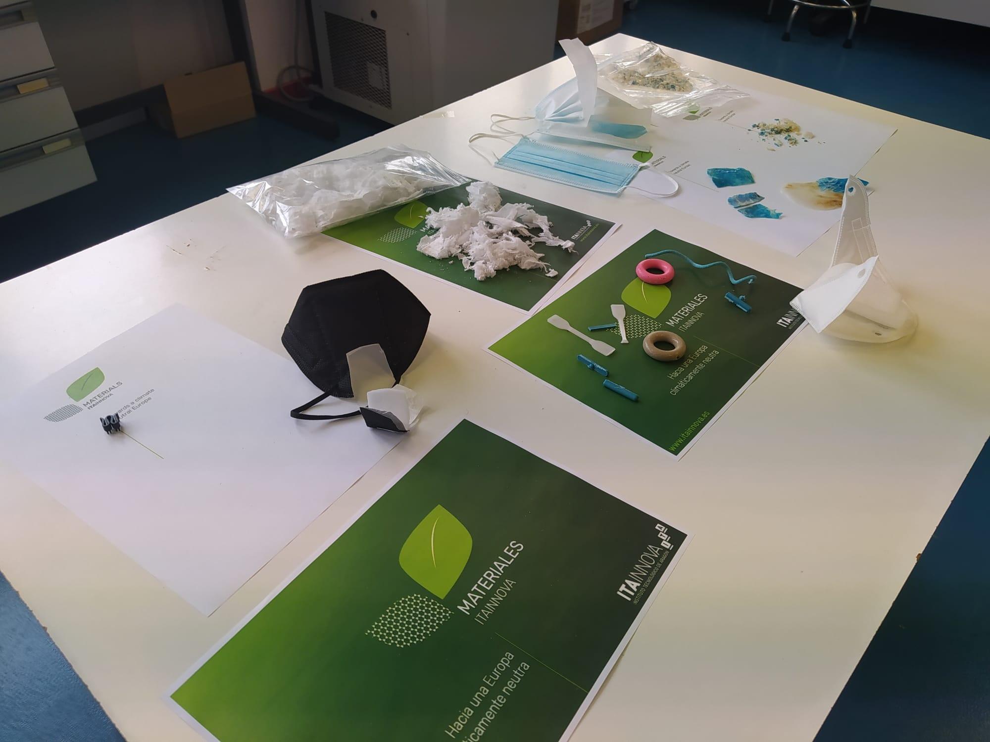 ITAINNOVA presenta los resultados de una investigación sobre el reciclaje de las mascarillas FFP2