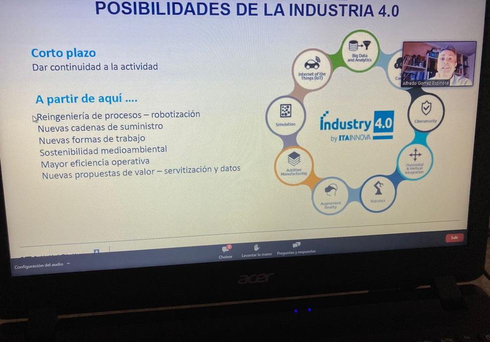 La digitalización de las empresas, la economía circular y la transición energética, claves para la recuperación económica