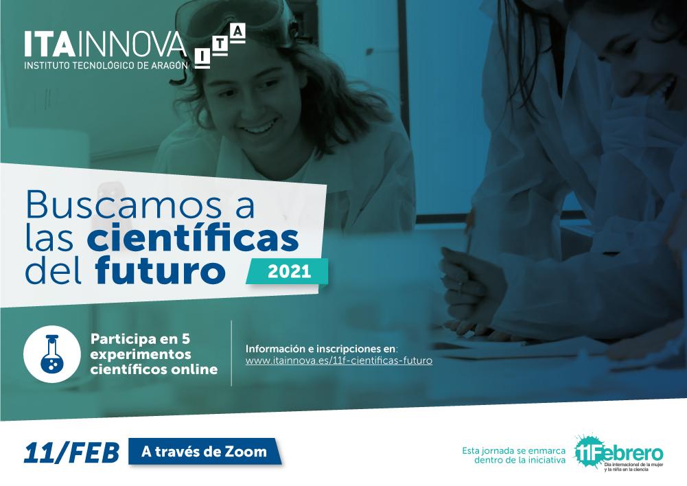 """Imagen del evento """"Buscamos a las científicas del futuro (2021)"""""""