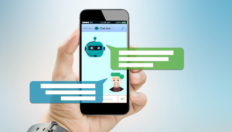 Composición de un chatbot en un dispositivo móvil