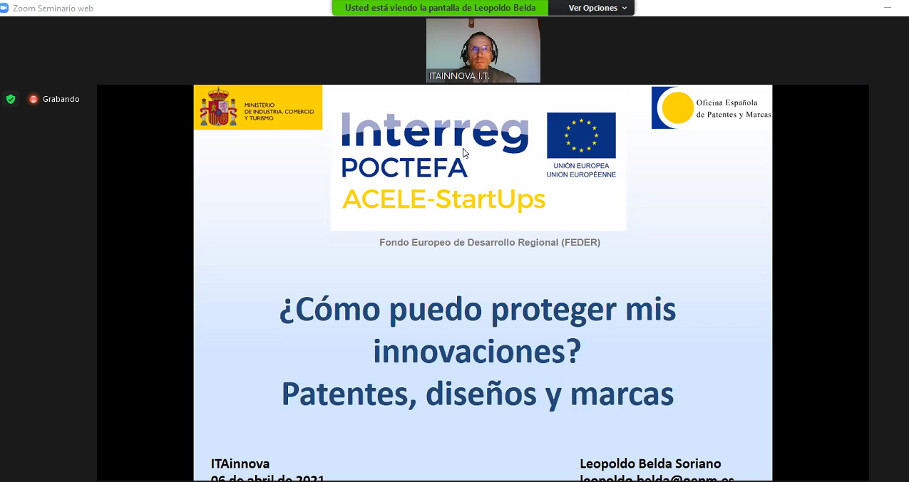 ITAINNOVA ha celebrado una jornada sobre cómo proteger el talento y la gestión de la propiedad industrial