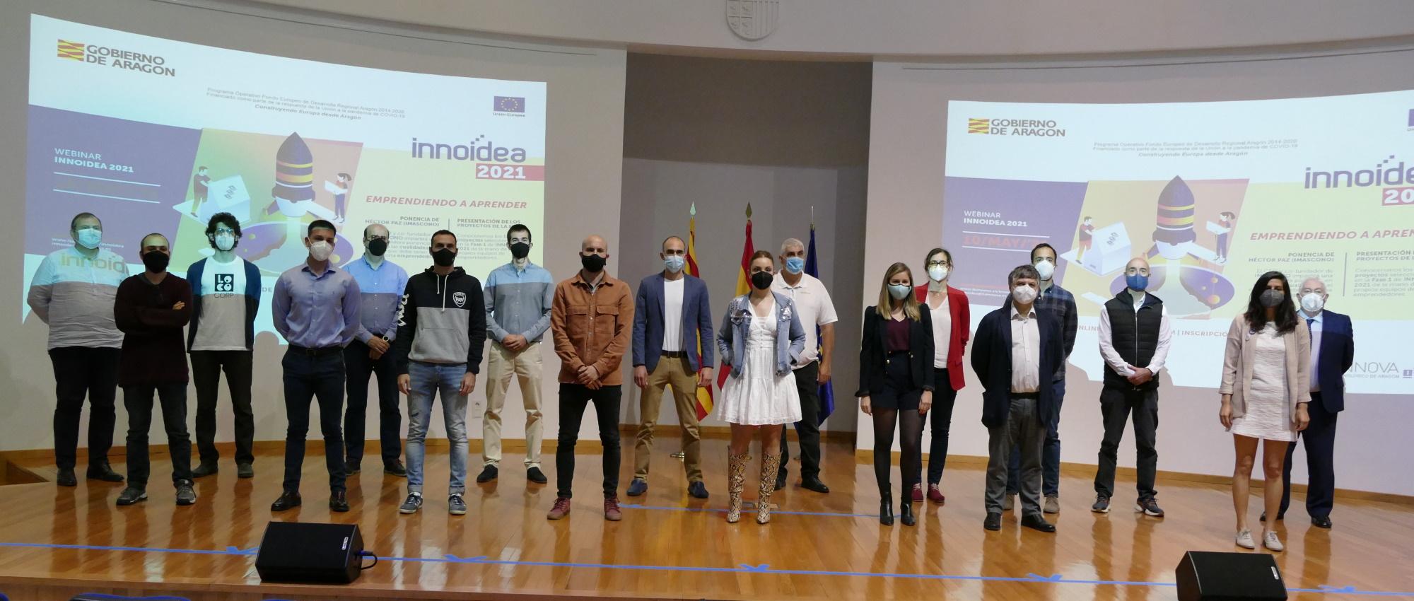 Doce proyectos de emprendedores van a recibir soporte tecnológico de ITAINNOVA en el programa INNOIDEA 2021
