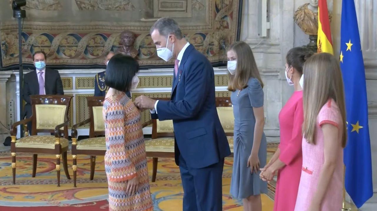 Nuestra compañera Cristina Crespo, Medalla al Mérito Civil por el desarrollo de WasaMask