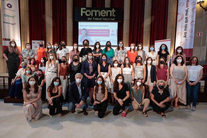 Mujeres emprendedoras de Aragón y Cataluña finalizan la formación financiada por EEUU, con oportunidades de financiación para hacer realidad sus proyectos