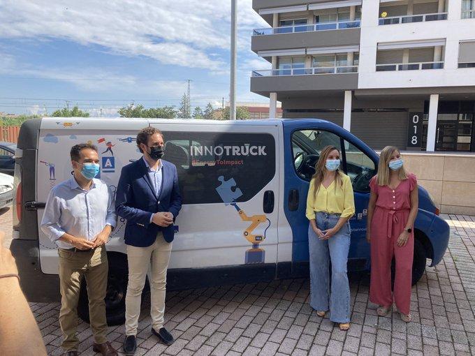 Monzón, primera parada de INNORUTA, con el que ITAINNOVA acerca la digitalización a las pymes