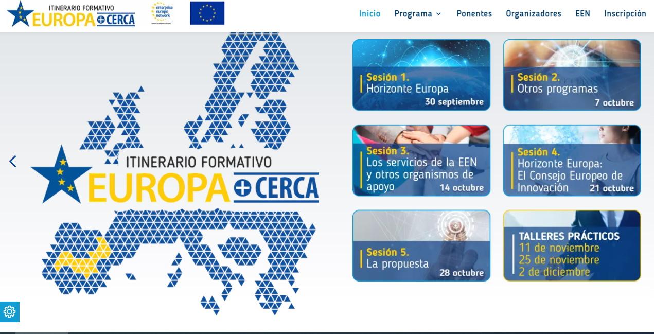 ITAINNOVA forma del parte del consorcio que impulsa el Itinerario Formativo Europa + Cerca 2021