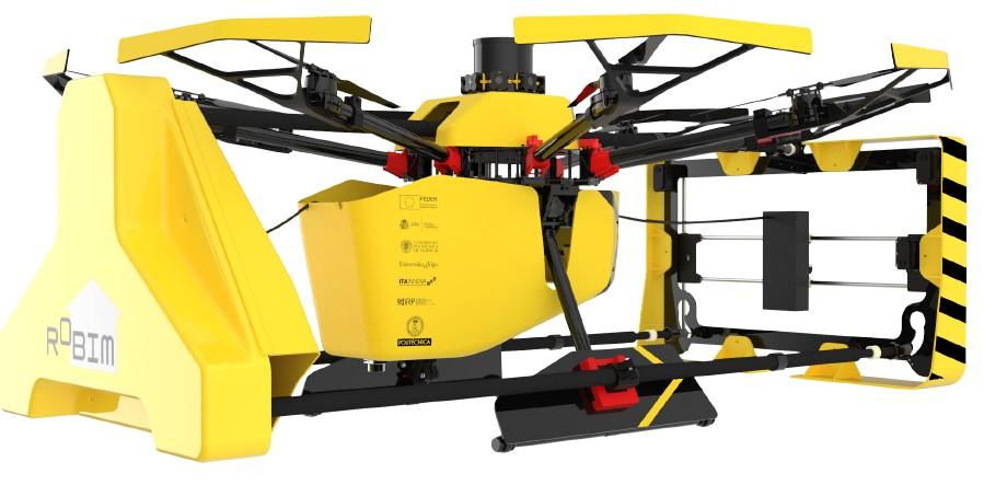 Robot aéreo ROBIM