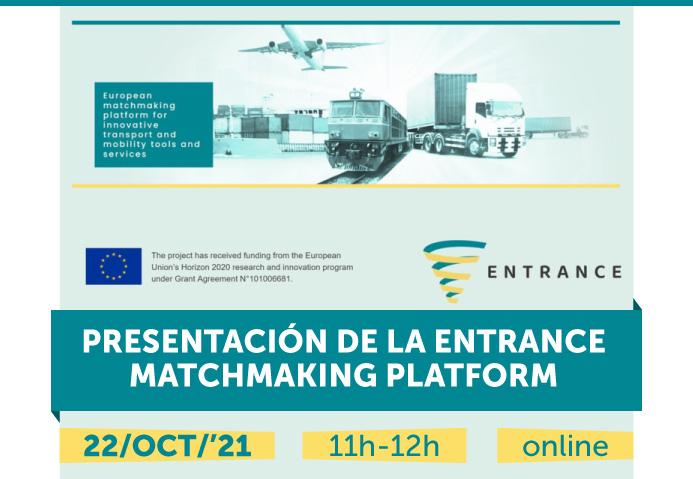 Jornada de presentación de la ENTRANCE Matchmaking Platform