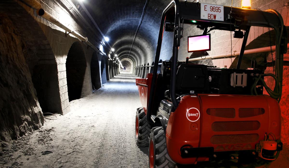 Imagen de Autodump en el tunel