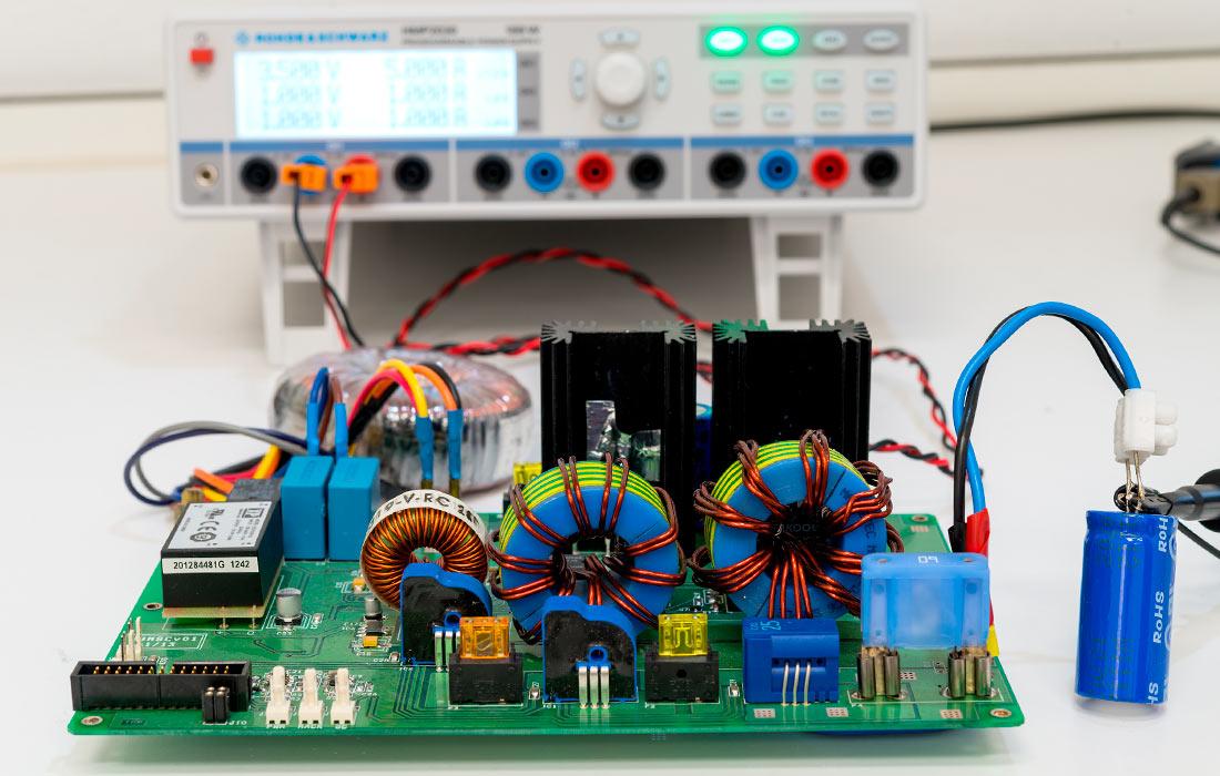 Electrificación de producto - pcb