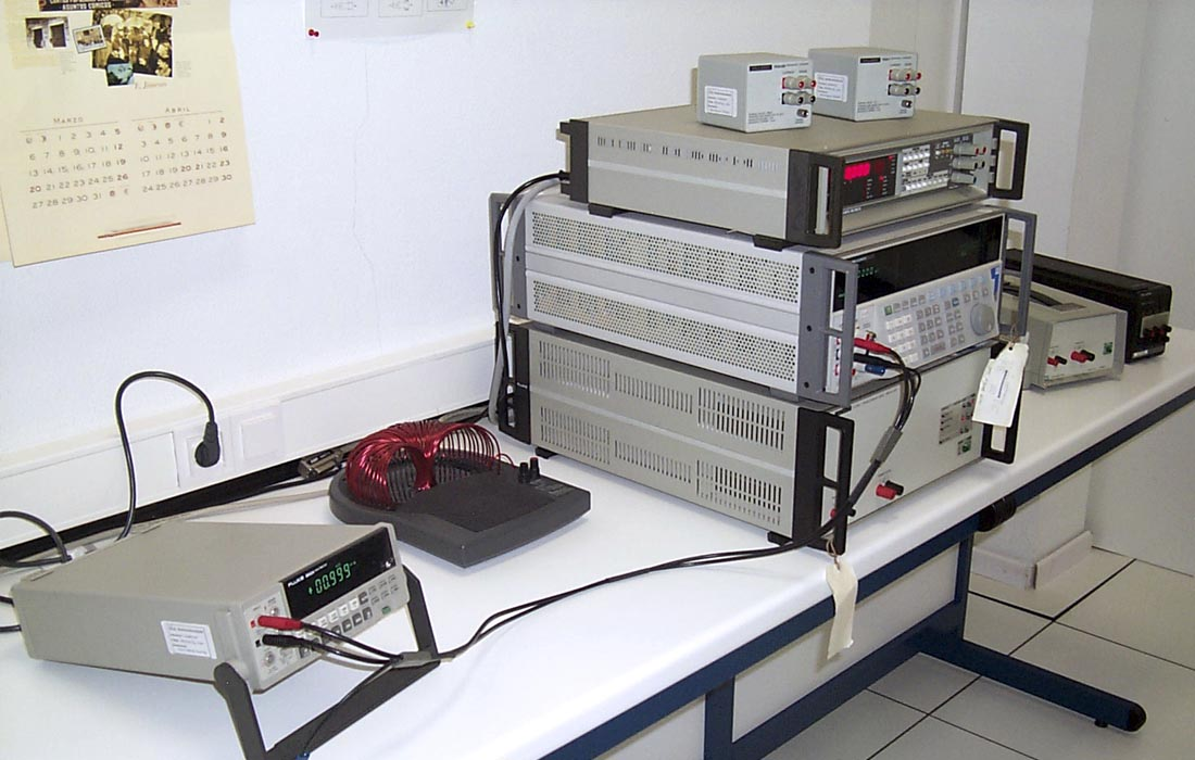 Laboratorio de calibracion eléctrica
