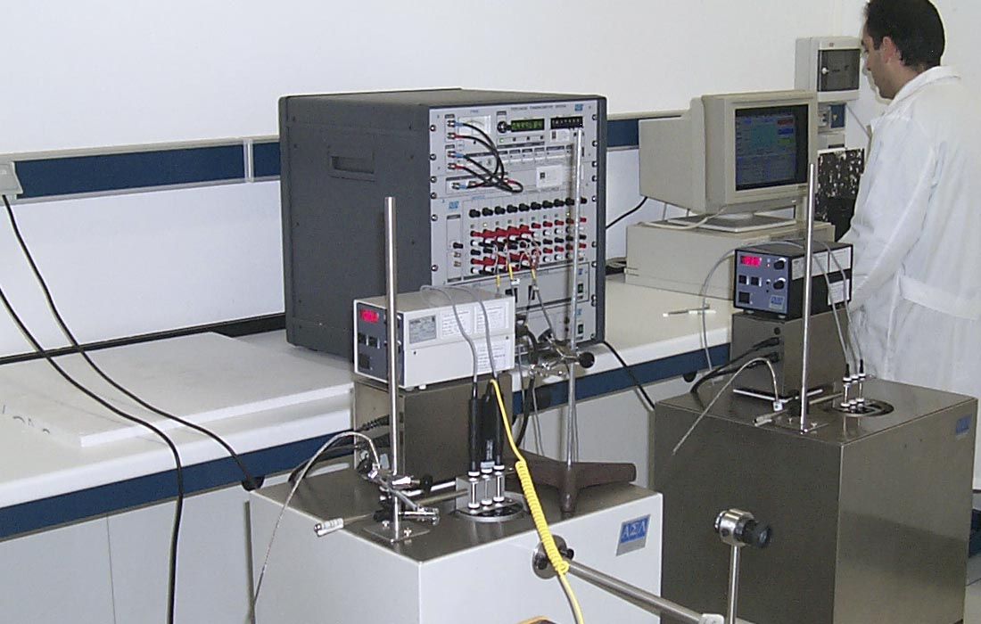 Calibraciones de humedad y temperatura en el laboratorio
