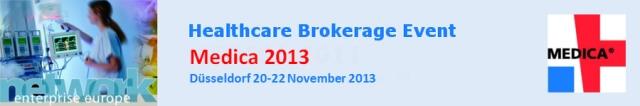MEDICA 2013: Encuentro empresarial en el sector médico - Dusseldorf, del 20 al 22 de noviembre
