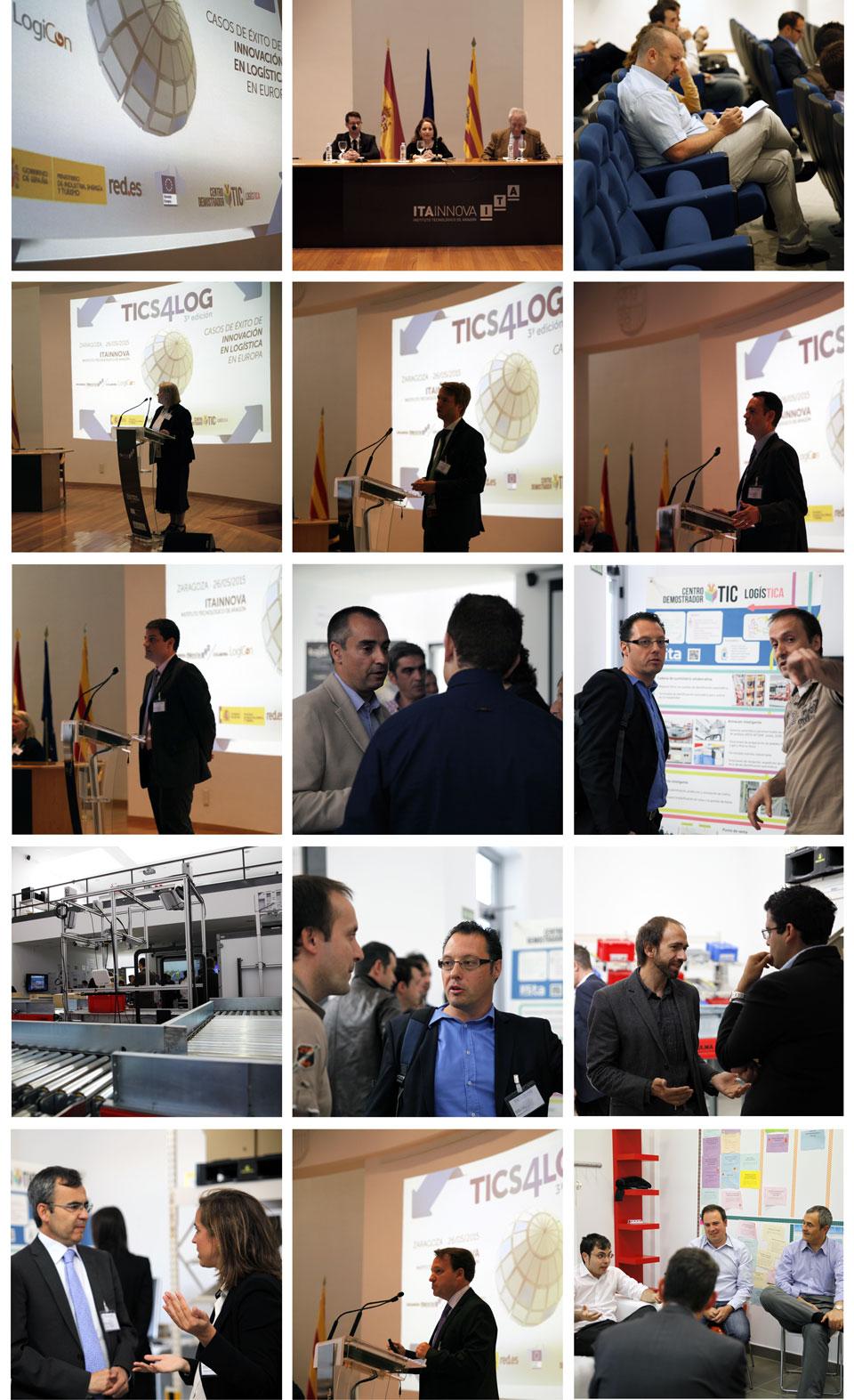 Imagen de difusión de las III Jornadas TICS4LOG