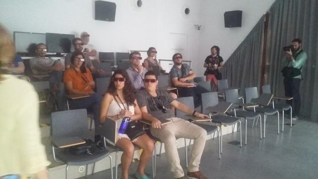 con gafas 3d