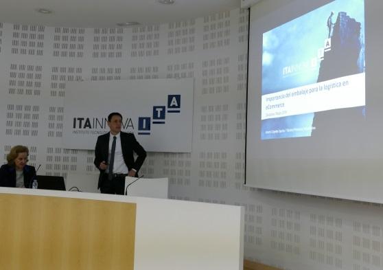 Alberto Capella, de ITAINNOVA, expone en jornada innovación logística.
