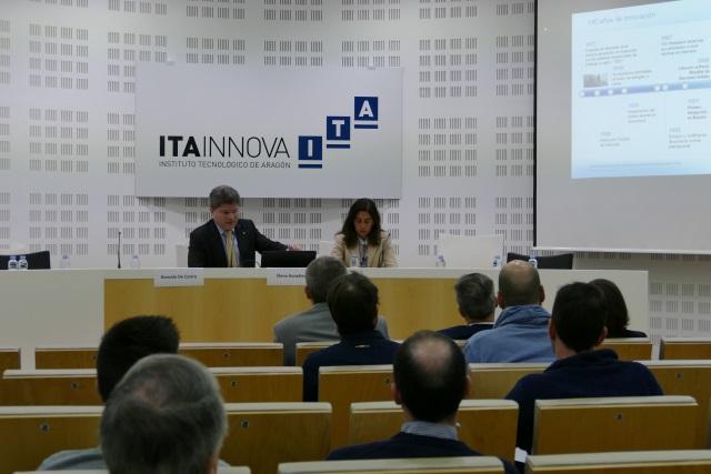 Gonzalo de Castro TUV y Elena Gonzalez ANESE