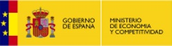 Logo del Ministerio de Economía y Competitividad