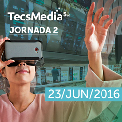 TECSMEDIA 5ed / Jornada 2: Realidad Aumentada y Tecnologías Inmersivas orientadas al sector industrial