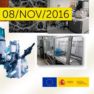 Jornada Práctica: Caracterización de materiales y superficies