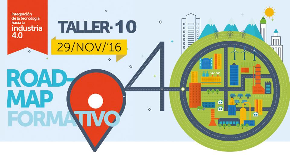 Imagen del taller 10 del roadmap ITAINNOVA sobre Industria 4.0