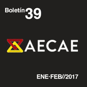 Imagen destacada del boletín ITAINNOVA AECAE 39