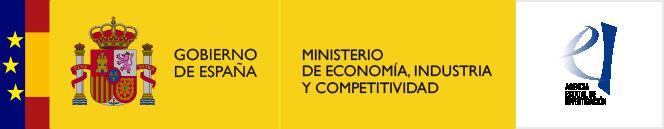 Logo del Ministerio de Economía, Industria y Competitividad + Agencia Estatal Investigación