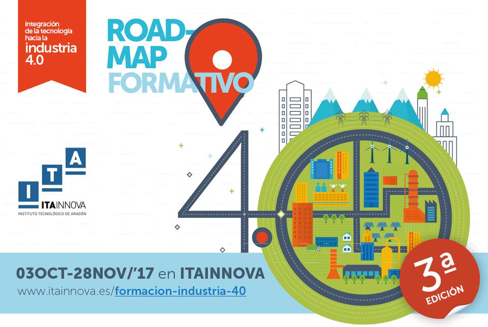 Imagen principal de la 3ª edición del Roadmap formativo en Industria 4.0