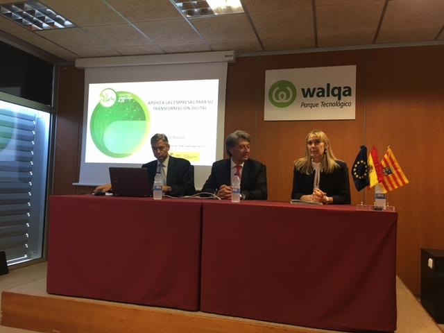 Presentan a los empresarios las ayudas Activa Industria 4.0 en Walqa (Huesca) y CEPYME (Zaragoza)