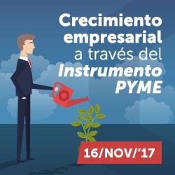 Crecimiento empresarial a través del Instrumento PYME